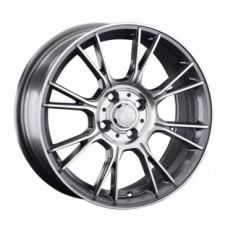LS-Wheels 818 7,0х16 PCD:4x100  ET:42 DIA:73.1 цвет:GMF (темно-серый,полировка)