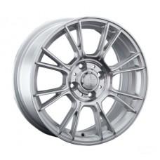 LS-Wheels 818 6,0х14 PCD:4x100  ET:38 DIA:73.1 цвет:SF (серебро,полировка)