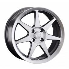 LS-Wheels 819 7,0х16 PCD:4x100  ET:42 DIA:73.1 цвет:GMF (темно-серый,полировка)
