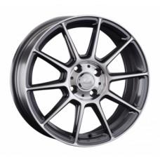 LS-Wheels 820 7,0х16 PCD:4x100  ET:42 DIA:73.1 цвет:GMF (темно-серый,полировка)
