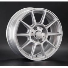 LS-Wheels 820 6,0х14 PCD:4x100  ET:38 DIA:73.1 цвет:SF (серебро,полировка)