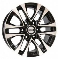 LS-Wheels 832 7,0х16 PCD:4x100  ET:45 DIA:60.1 цвет:GMF (темно-серый,полировка)