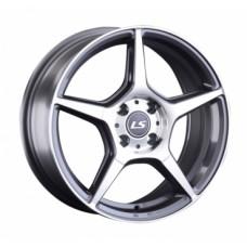 LS-Wheels 833 7,0х16 PCD:4x100  ET:42 DIA:60.1 цвет:GMF (темно-серый,полировка)