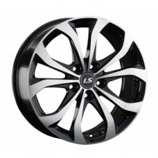 LS-Wheels 843 7,0х17 PCD:5x114,3  ET:45 DIA:67.1 цвет:BKF (черный)