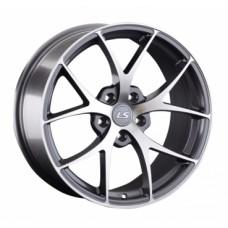 LS-Wheels 845 8,5х18 PCD:5x114,3  ET:35 DIA:67.1 цвет:GMF (темно-серый,полировка)