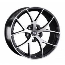 LS-Wheels 845 8,5х18 PCD:5x114,3  ET:35 DIA:67.1 цвет:BKF (черный)
