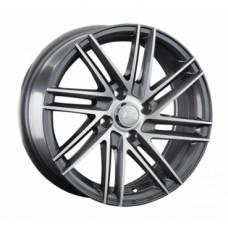 LS-Wheels 846 6,5х15 PCD:4x100  ET:40 DIA:73.1 цвет:GMF (темно-серый,полировка)