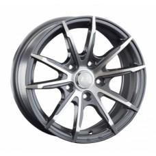LS-Wheels 851 6,5х15 PCD:5x114,3  ET:38 DIA:73.1 цвет:GMF (темно-серый,полировка)