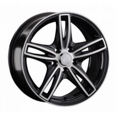 LS-Wheels 858 6,5х15 PCD:5x100  ET:40 DIA:73.1 цвет:BKF (черный)