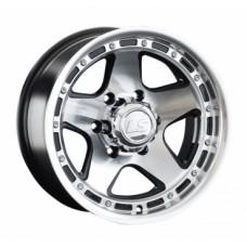 LS-Wheels 870 8,0х15 PCD:6x139,7  ET:-10 DIA:106.1 цвет:BKF (черный)