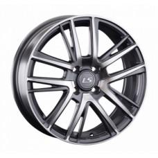 LS-Wheels 917 6,0х16 PCD:4x100  ET:52 DIA:54.1 цвет:GMF (темно-серый,полировка)