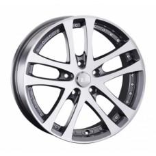 LS-Wheels 919 7,5х17 PCD:5x114,3  ET:35 DIA:73.1 цвет:GMF (темно-серый,полировка)