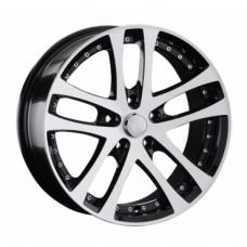LS-Wheels 919 8,0х18 PCD:5x112  ET:35 DIA:73.1 цвет:BKF (черный)
