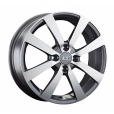 LS-Wheels 948 6,0х16 PCD:4x100  ET:41 DIA:60.1 цвет:GMF (темно-серый,полировка)