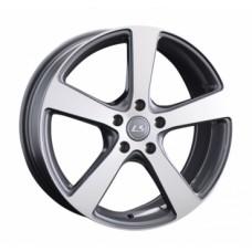 LS-Wheels 956 7,5х18 PCD:5x114,3  ET:45 DIA:73.1 цвет:GMF (темно-серый,полировка)