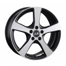 LS-Wheels 956 7,0х16 PCD:5x100  ET:40 DIA:57.1 цвет:BKF (черный)
