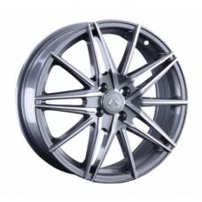 LS-Wheels 957 6,5х17 PCD:4x100  ET:42 DIA:60.1 цвет:GMF (темно-серый,полировка)