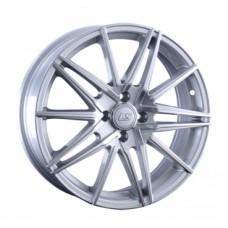 LS-Wheels 957 6,5х17 PCD:4x100  ET:42 DIA:60.1 цвет:SF (серебро,полировка)
