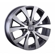 LS-Wheels 960 6,0х15 PCD:4x100  ET:45 DIA:60.1 цвет:GMF (темно-серый,полировка)
