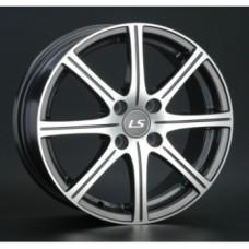 LS-Wheels H3001 6,0х15 PCD:4x100  ET:40 DIA:73.1 цвет:GMF (темно-серый,полировка)