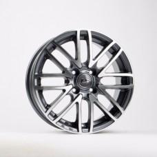 LS-Wheels H3002 6,0х15 PCD:4x100  ET:40 DIA:73.1 цвет:GMF (темно-серый,полировка)