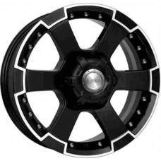 КиК M56-(KC593) 7,0х16 PCD:6x139,7  ET:30 DIA:93.1 цвет:алмаз черный
