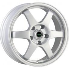 Megami MGM-6 6,0х14 PCD:4x100  ET:49 DIA:56.6 цвет:S (серебро)