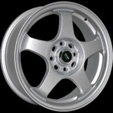 Megami MGM-7 6,0х15 PCD:4x100  ET:48 DIA:54.1 цвет:S (серебро)