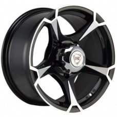 NZ SH659 8,0х16 PCD:6x139,7  ET:0 DIA:108.2 цвет:BKF (черный)