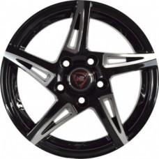 NZ SH661 8,0х18 PCD:5x120  ET:30 DIA:72.6 цвет:BKF (черный)