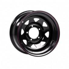 Off-Road-Wheels Nissan-Toyota 8,0х16 PCD:6x139,7  ET:-19 DIA:110.0 цвет:BL (черный глянцевый)