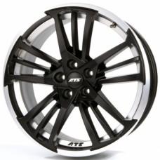 ATS Prazision 8,5х18 PCD:5x112  ET:30 DIA:70.1 цвет:Racing Black Double Lip Polish