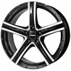Rial Quinto 9,0х19 PCD:5x112  ET:24 DIA:66.5 цвет:Diamant Black Front Polished