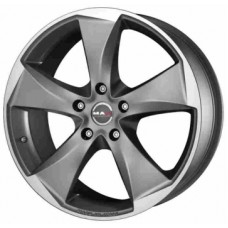 MAK Raptor5 9,5х19 PCD:5x112  ET:35 DIA:76.0 цвет:Graphite Mirror Face