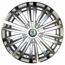 Replica-Top-Driver SK57 6,5х16 PCD:5x112  ET:50 DIA:57.1 цвет:SF (серебро,полировка)