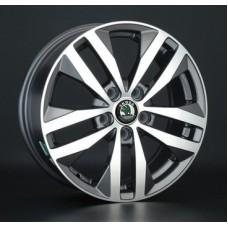 Replica-Top-Driver SK65 6,5х16 PCD:5x112  ET:50 DIA:57.1 цвет:GMF (темно-серый,полировка)