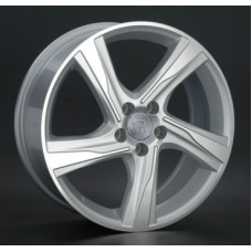 Replica-Top-Driver V20 7,5х17 PCD:5x108  ET:55 DIA:63.3 цвет:SF (серебро,полировка)