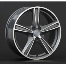 Replica-Top-Driver V9 7,0х16 PCD:5x108  ET:50 DIA:63.3 цвет:GMF (темно-серый,полировка)