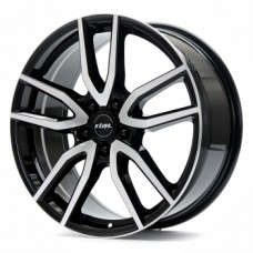 Rial Torino 6,5х16 PCD:5x114,3  ET:40 DIA:70.1 цвет:Diamant Black Front Polished