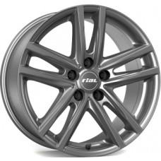 Rial X10 7,5х17 PCD:5x112  ET:30 DIA:66.5 цвет:metal grey