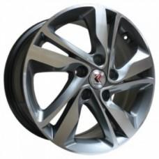 Replikey RK5078-Hyundai-Creta 6,5х16 PCD:5x114,3  ET:45 DIA:67.1 цвет:GMF (темно-серый,полировка)