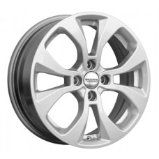 Скад KL-296-(Renault-Logan) 6,0х16 PCD:4x100  ET:40 DIA:60.1 цвет:селена (серебристый)