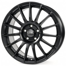O.Z-Racing Superturismo-LM 8,5х19 PCD:5x112  ET:30 DIA:75.0 цвет:Matt Black Silver Lettering