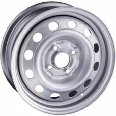 Trebl 6355 5,5х14 PCD:4x108  ET:37,5 DIA:63.3 цвет:S (серебро)