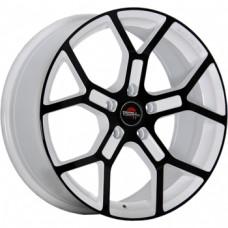 Yokatta MODEL-19 7,0х17 PCD:5x105  ET:42 DIA:56.6 цвет:W+B