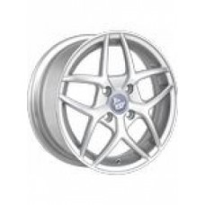 YST X-19 5,5х14 PCD:4x100  ET:39 DIA:56.6 цвет:SF (серебро,полировка)