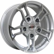 Диски Alcasta M18 6,5х15 PCD:5x139,7 ET:40 DIA:98.6 цвет:SF (серебро,полировка)