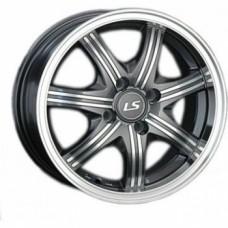 Диски LS-Wheels 323 7,0х16 PCD:5x114,3 ET:40 DIA:73.1 цвет:GMF (темно-серый,полировка)