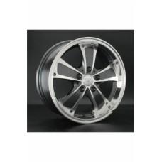 Диски LS-Wheels 809 7,0х16 PCD:5x114,3 ET:38 DIA:73.1 цвет:GMF (темно-серый,полировка)