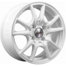 Диски LS-Wheels X-104 6,0х14 PCD:4x100 ET:38 DIA:67.1 цвет:W (белый)